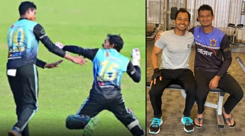Bangladesh Cricketer Mushfiqur Rahim apologises to Nasum Ahmed for misbehaving | Sangbad Pratidin