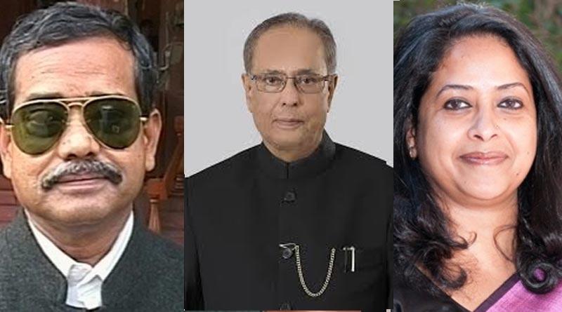 Pranab Mukherjee's Son and Daughter fights over his Memoir third part   Sangbad Pratidin