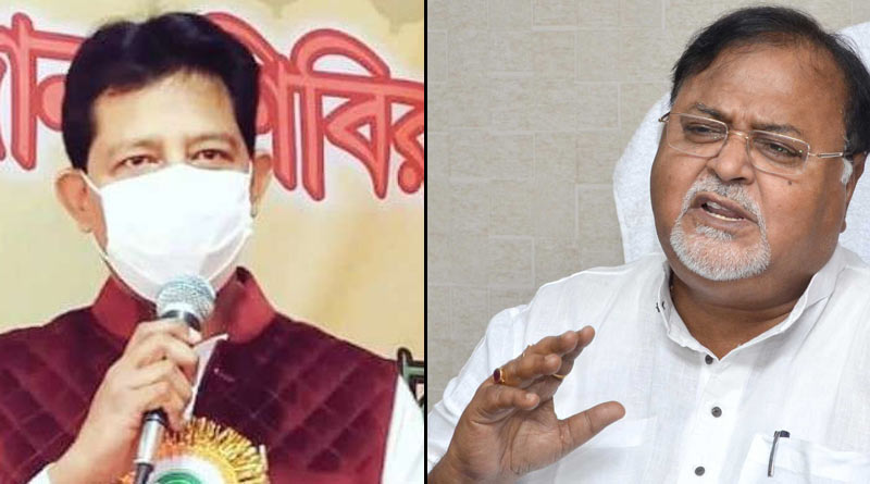 Rajib Banerjee meets Partha Chatterjee after knowing the news of his mother's demise