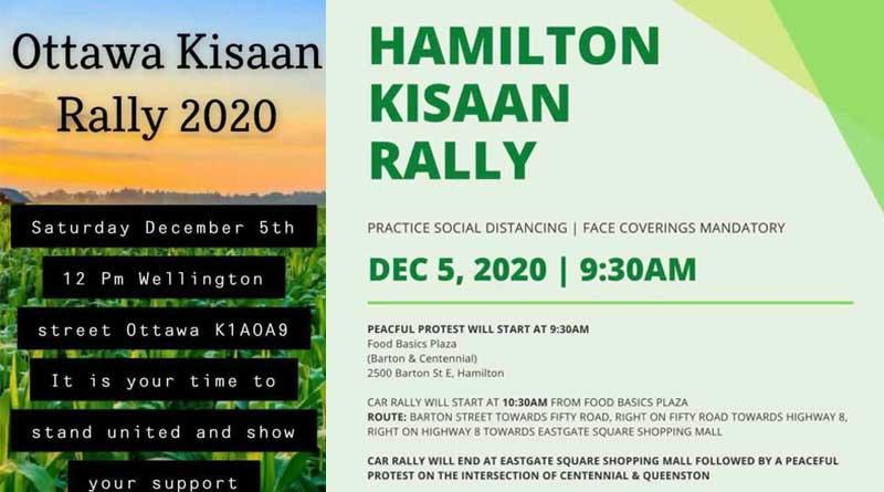 Canada Farmer Rally