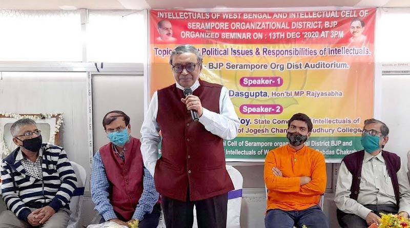 Bangla news: BJP MP Swapan Dasgupta slums Mamata banerjee's government। Sangbad Pratidin