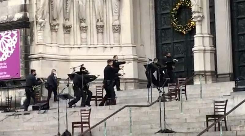 World news: Gunman opened fire at Christmas concert in New York shot dead | Sangbad Pratidin