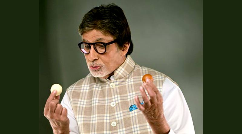 Amitabh Bachchan reveals particular disadvantage of being an actor by holding Rasgulla and Gulab Jamun in each hand | Sangbad Pratidin
