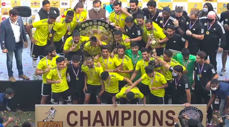 IFA Shield 2020: Real Kashmir beats George Telegraph in Final   Sangbad Pratidin