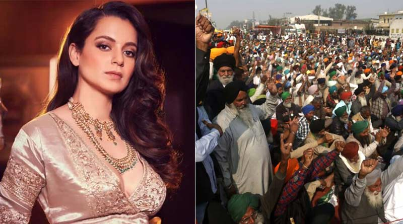 Kangana Ranaut shares her views on Bharat Bandh over Framers protest in poetic style| Sangbad Pratidin