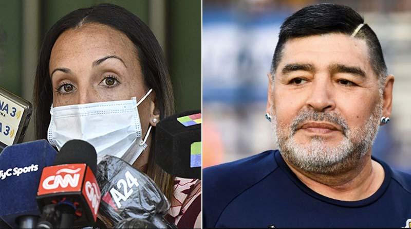Diego Maradona's psychiatrist Agustina Cosachev's name is in suspect list for his death   Sangbad Pratidin