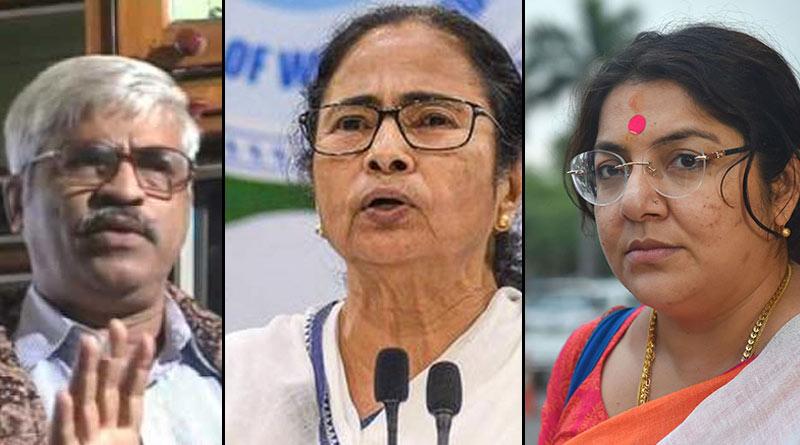 Sujan Chakroborty, Locket Chatterjee crticise Mamata Banerjee's announcement of industrial project at Singur | Sangbad Pratidin