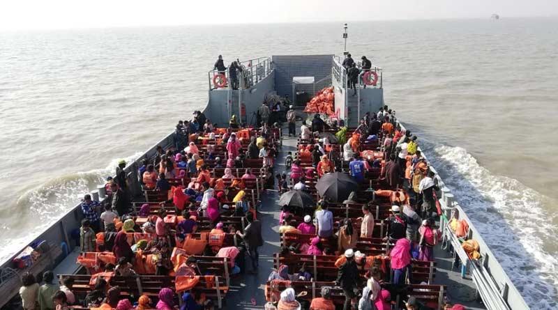 Bangladesh shifts another Rohingya batch to Bhasanchar | Sangbad Pratidin