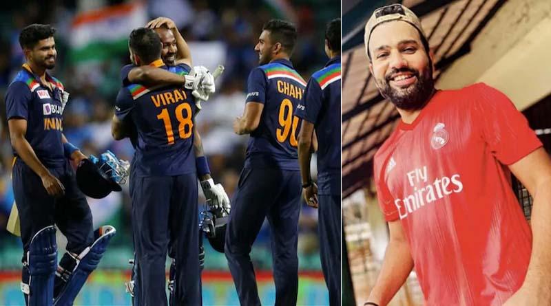 Rohit Sharma gives Virat Kohli and Co. a 'big thumbs up' after India clinch T20I series in Australia | Sangbad Pratidin