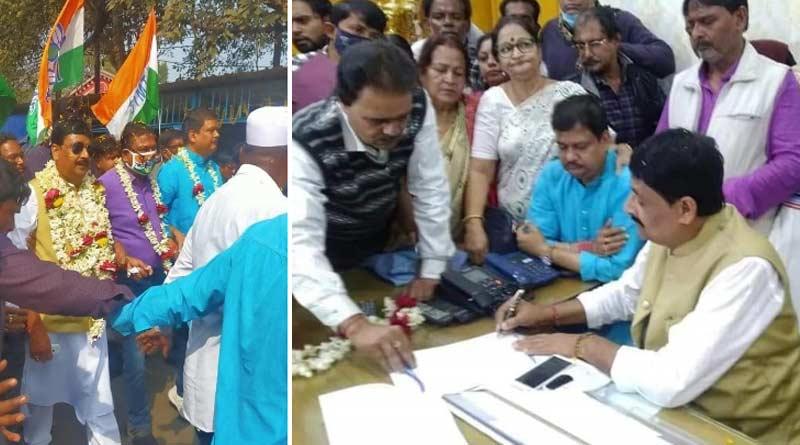 TMC leader praises Asansol Municipal Corporation new administrator, raises questions on Jitendra Tiwari   Sangbad Pratidin