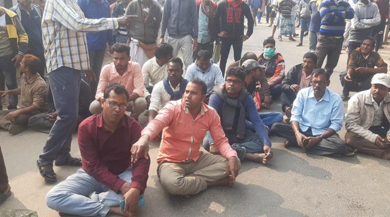 Protest in Khejuri
