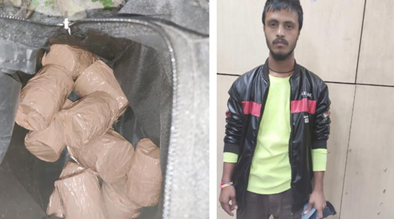 Man with bombs arrested from AJC Bose Road with the help of Army detectives  SangbadPratidin