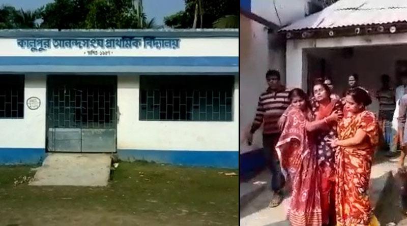 Teachers clash in school, situation boils in Bongaon  Sangbad Pratidin