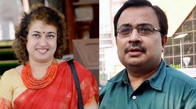 Kunal Ghosh visits Satabdi Roy's home amidst the controversy on her facebook post| Sangbad Pratidin