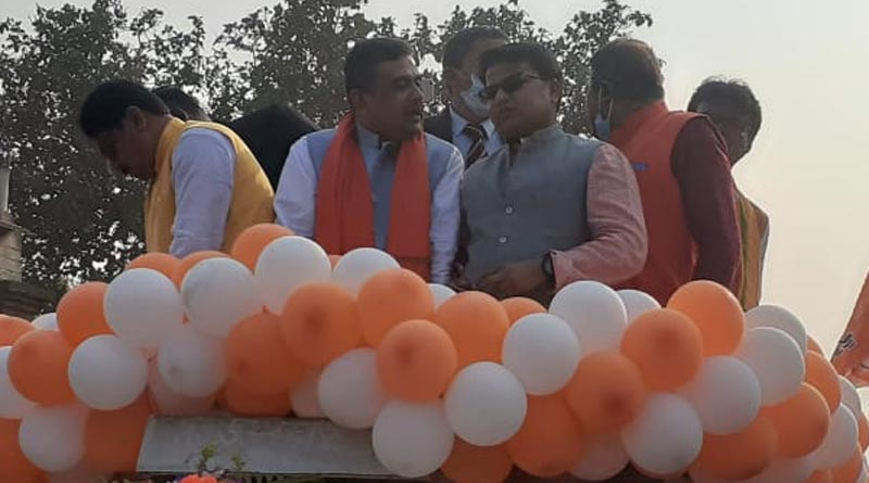 Suvendu Adhikari mocks Bengal Government over Free COVID-19 Vaccine   Sangbad Pratidin