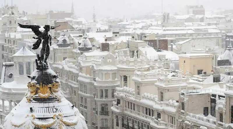Snow blizzard in Spain kills 4, breaks 50-year old record | Sangbad Pratidin