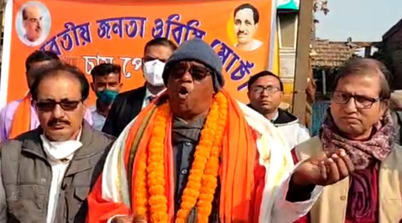 'I am with Trinamool Congress', says MP Sunil Mandal in Delhi | Sangbad Pratidin