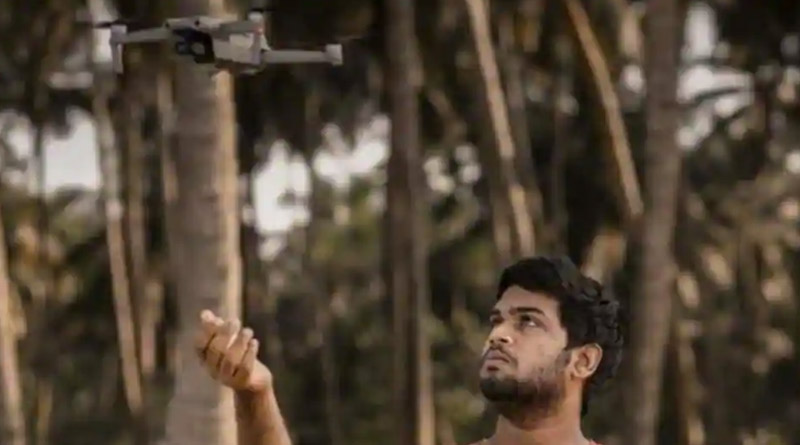 Armed with drone, 19-year-old rescues 4 drowning fishermen off Kerala coast | Sangbad Pratidin