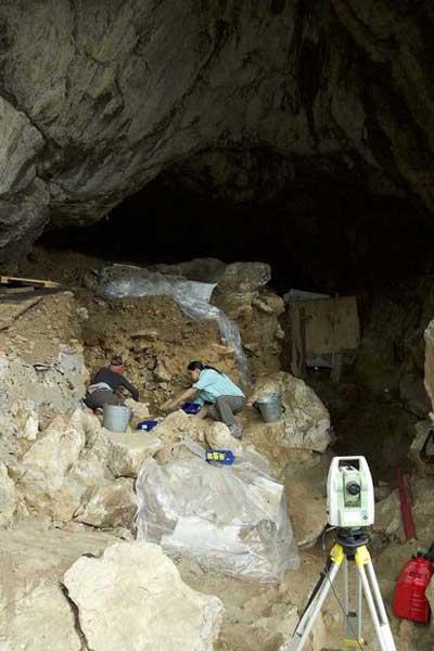Inside excavations
