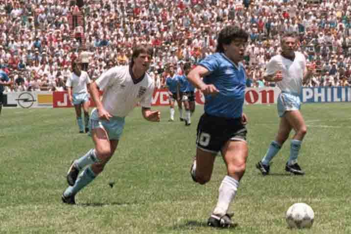 Maradona's wonder goal