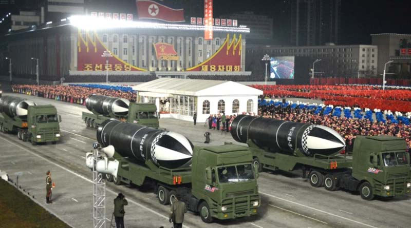 'World's most powerful weapon': N Korea parades new missile Sangbad Pratidin