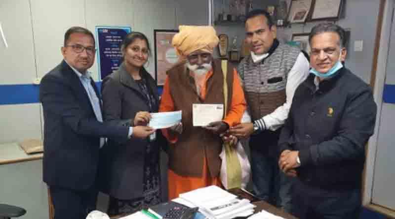 'Lifelong dream': 89-year-old cave dwelling hermit donates ₹1 crore for Ram Temple construction | Sangbad Pratidin