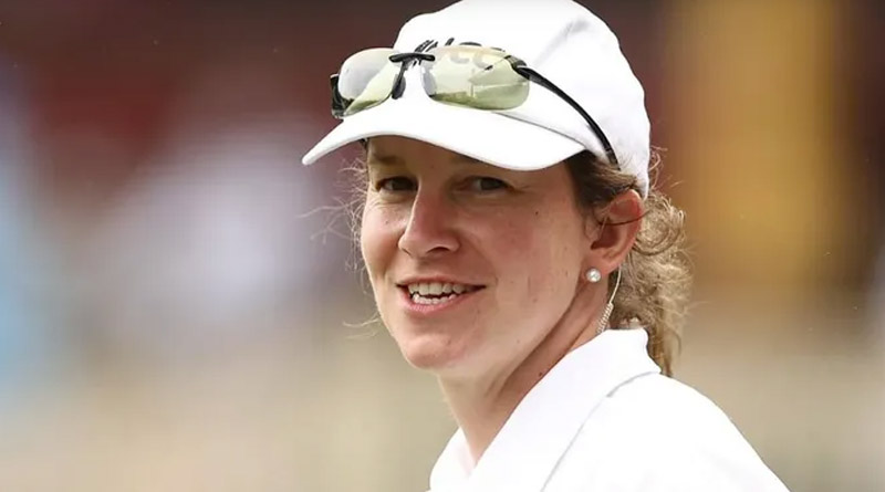 Claire Polosak Becomes 1st Woman To Officiate In Men's Tests, Fans React   Sangbad Pratidin