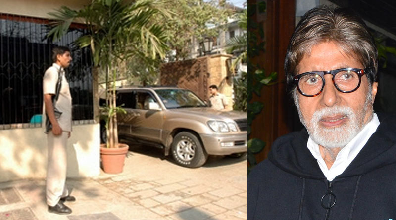 Security beefed up of 'Jalsa', bunglow of Amitabh Bachchhan after threatened by Congress leader Nana Patole