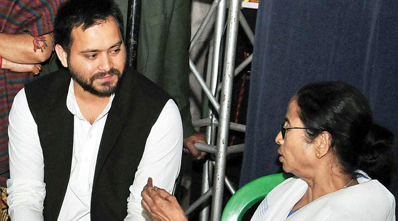 RJD leader Tejaswi Yadav's significant comment on whom to support in WB Assembly Election |SangbadPratidin