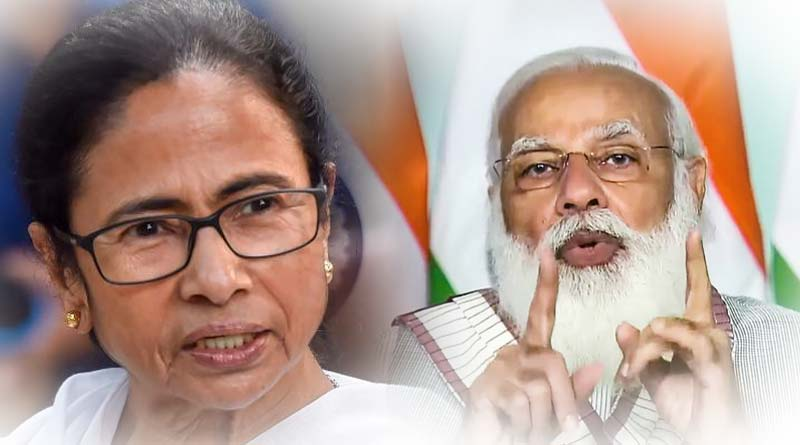 WB Polls 2021 : Mamata Banerjee lashes out at PM Modi in DumDum | Sangbad Pratidin
