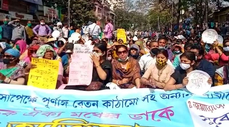 SSK-MSK teachers transferred to North Bengal, they get offended | Sangbad Pratidin