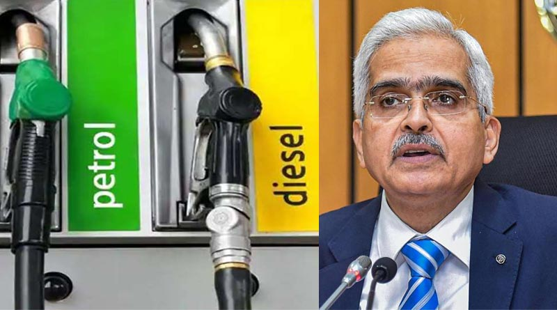 Fuel prices, RBI Guv calls for coordinated Centre-state action | Sangbad Pratidin