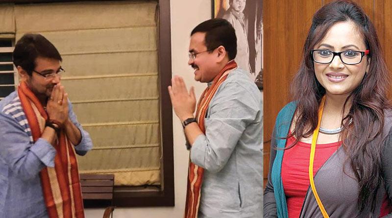 Sreelekha Mitra opens up on Prosenjit Chatterjee meeting BJP leader   Sangbad Pratidin
