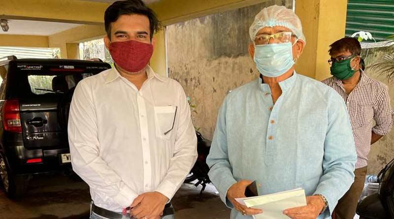 Sovandeb chatterjee recovered from COVID-19 | Sangbad Pratidin