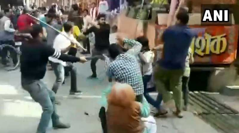 A clash between chaat sellers in Uttar Pradesh's Baghpat went viral | Sangbad Pratidin