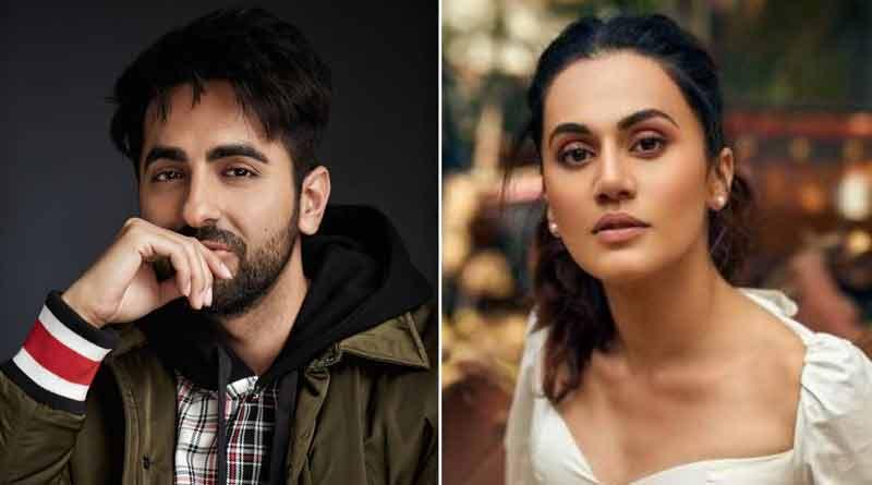 Ayushmann Khurrana star Anek film's shooting, Taapsee Pannu shares Loop Lapeta's Firs look | Sangbad Pratidin