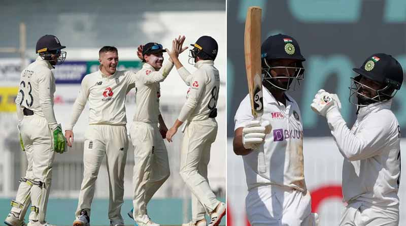 India vs England chennai Test's Third day Dominated by the english cricketers | Sangbad Pratidin