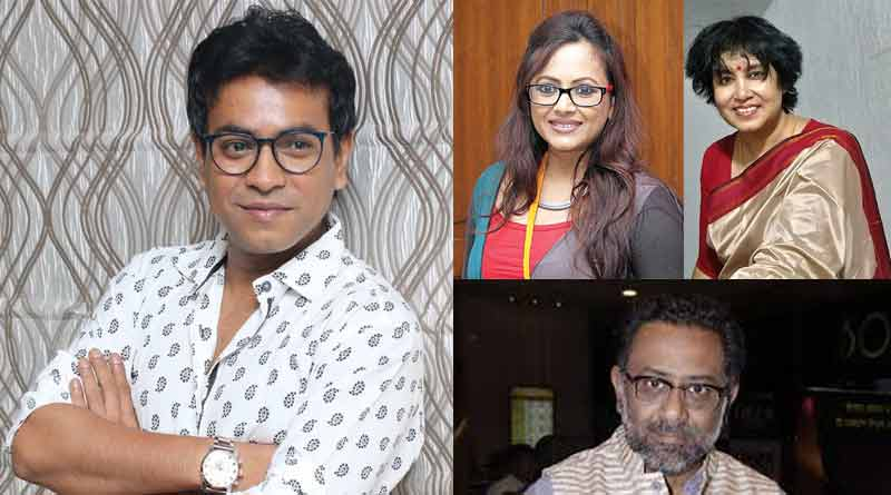Sreelekha Mitra, Taslima Nasrin, Kamaleswar Mukherjee slams tollywood Actor Rudranil Ghosh on social Media | Sangbad Pratidin