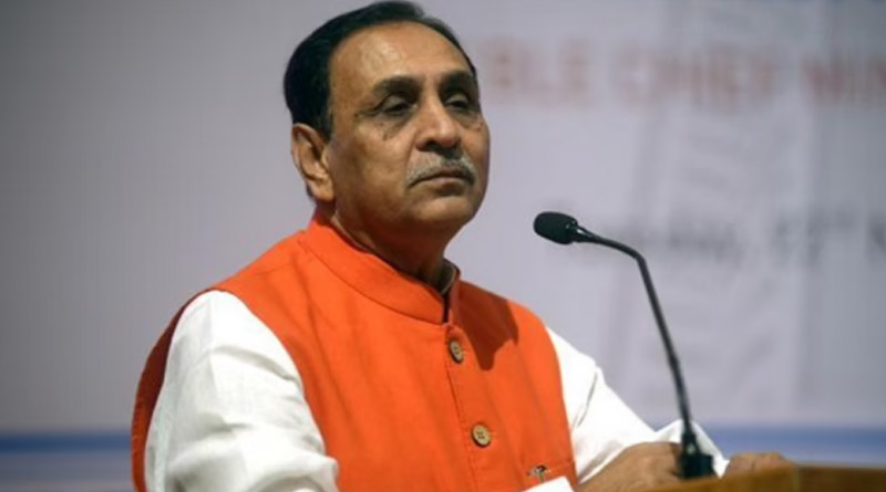 Gujarat Chief Minister Vijay Rupani Tests Covid+ve Hours After He Fainted On Stage | Sangbad Pratidin