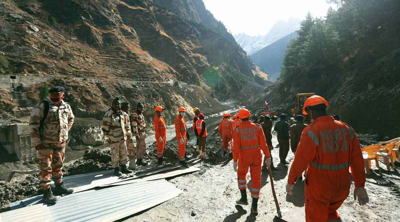 Uttarakhand: 32 bodies recovered, 206 persons missing; rescue efforts continue   Sangbad Pratidin