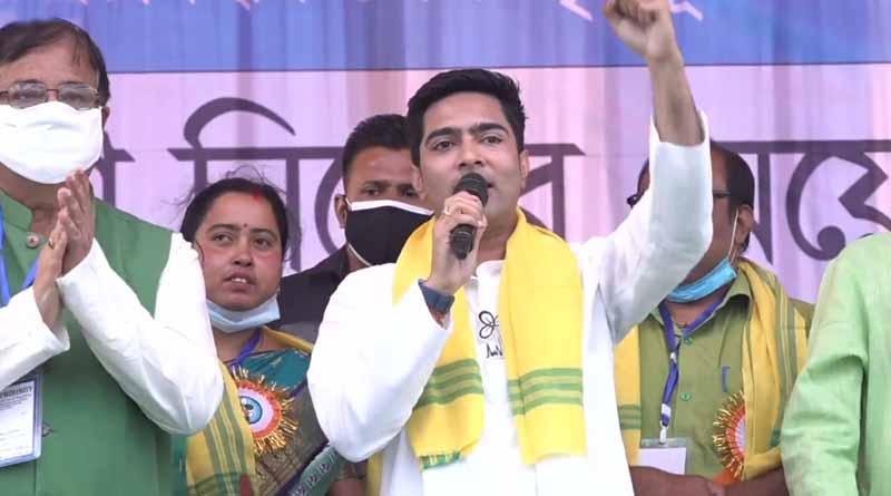 WB elections: TMC leader Abhishek Banerjee attacks BJP from Sitai rally of Coochbihar । Sangbad Pratidin