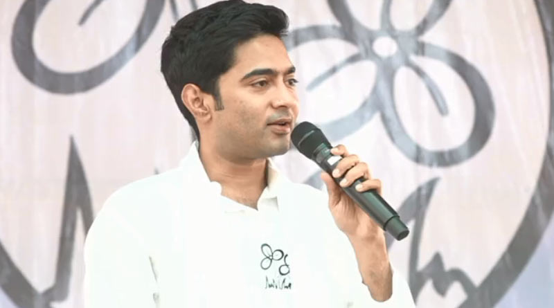 Bengal Polls 2021 : Abhishek Banerjee slams Modi over Covid-19 | Sangbad Pratidin