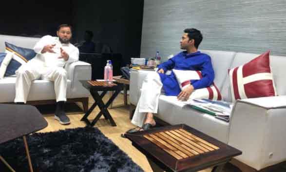 Tejashwi Yadav met Abhishek Banerjee