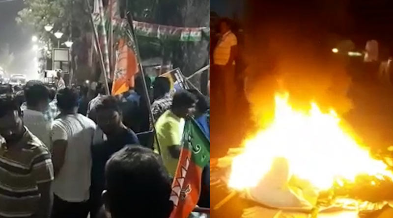 WB Assembly election: BJP supporters stage protets as they don't like candidates Sangbad Pratidin