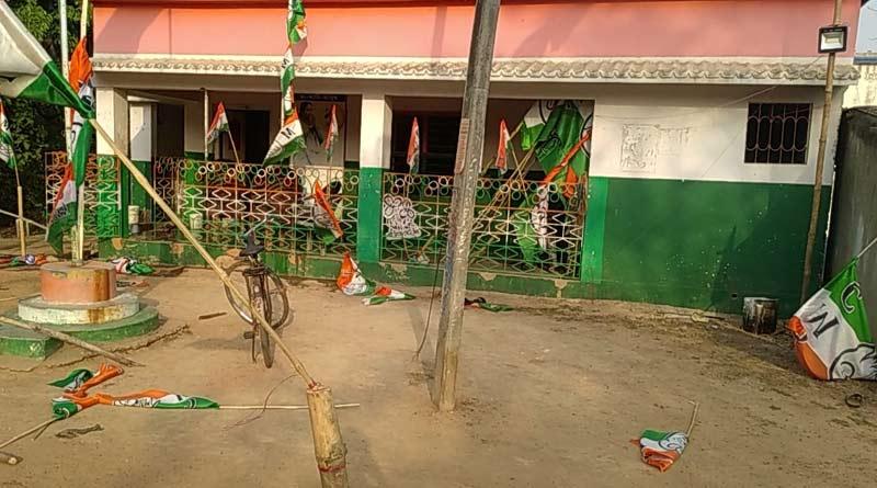 WB Assembly election: Bombing at TMC party office at Kotulpur, Bankura, 4 injured |Sangbad Pratidin