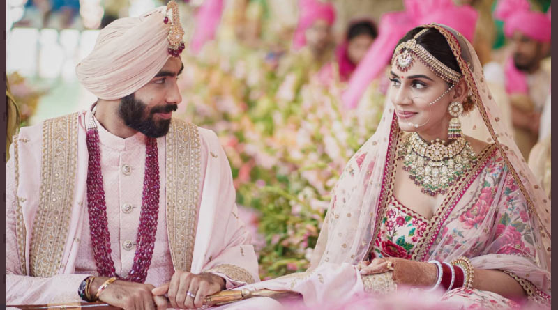 Jasprit Bumrah got hitched with TV anchor Sanjana, see pics | Sangbad Pratidin Photo Gallery: News Photos, Viral Pictures, Trending Photos - Sangbad Pratidin