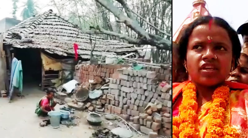West Bengal Assembly Polls : There is no toilet in Saltora BJP candidate's House | Sangbad Pratidin