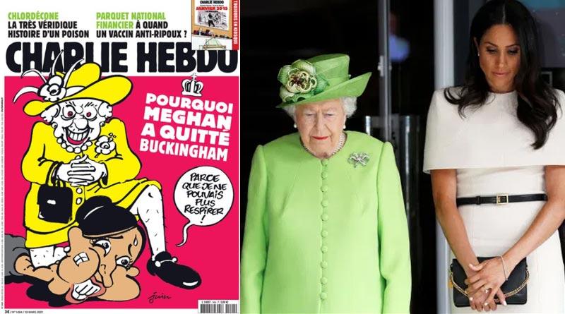Charlie Hebdo faces flak for cartoon depicting Meghan Markle as George Floyd | Sangbad Pratidin