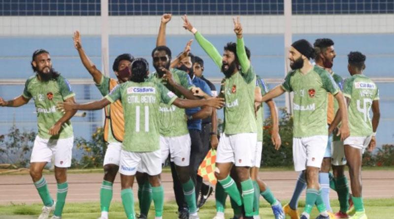 Gokulam Kerala beats TRAU 4-1 to become the first club from kerala lift I League title | Sangbad Pratidin