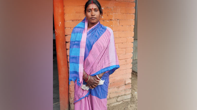 BJP candidate from Aushgram, Burdwan East Kalita Maji appeals for leave from the houses she works as made-servant |Sangbad Pratidin